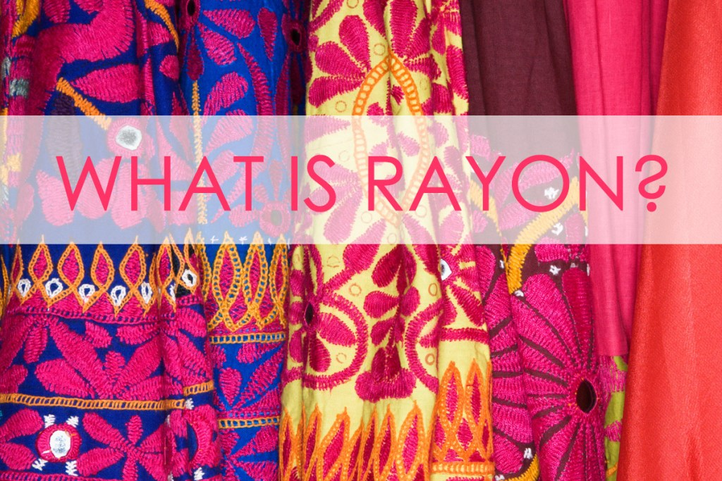 what is rayon, sewing rayon
