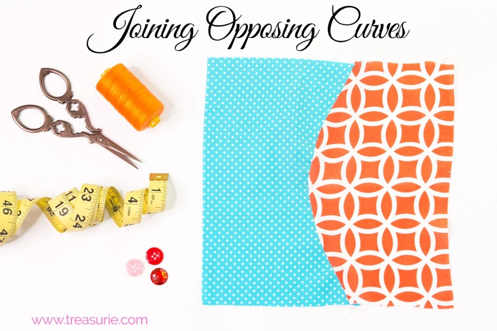 sewing opposing curves