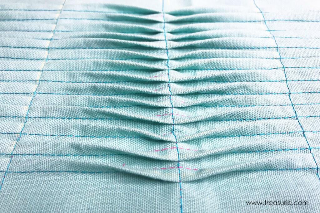 how to sew pin tucks