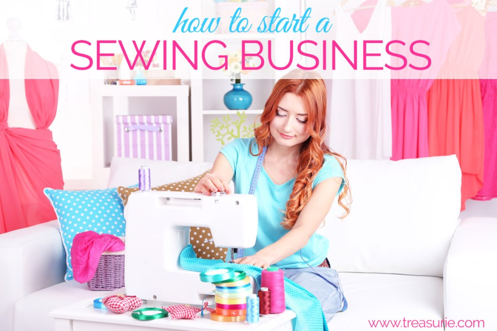 How To Start A Sewing Business Make Money Sewing TREASURIE Delectable 4 Pics 1 Word Woman With Scissors Sewing Machine