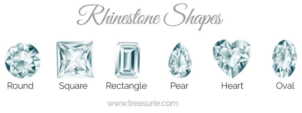 rhinestone shapes