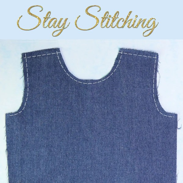 Stay Stitching {What it is and how to do it}