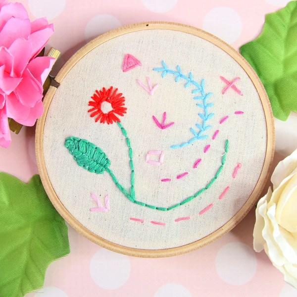 Straight Stitch | Embroidery