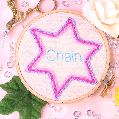Chain Stitch | Embroidery Tutorial