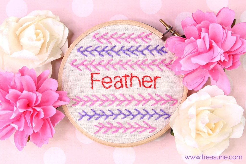 Feather Stitch Embroidery Tutorial Treasurie