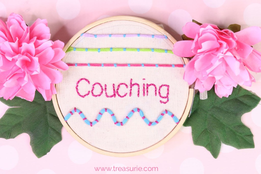 couching embroidery