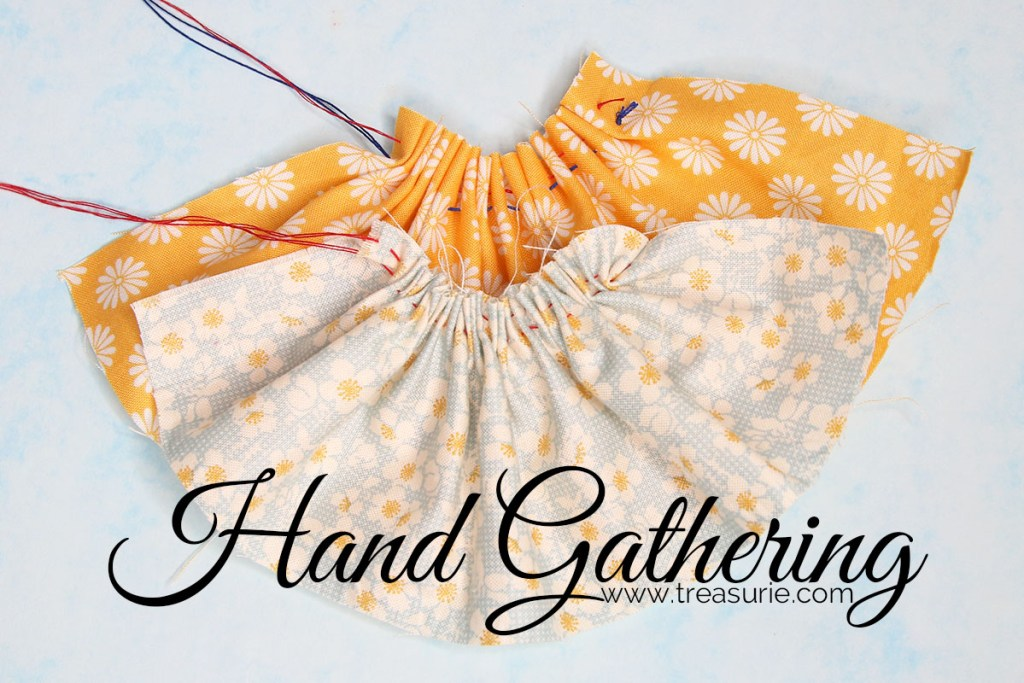 gathering by hand