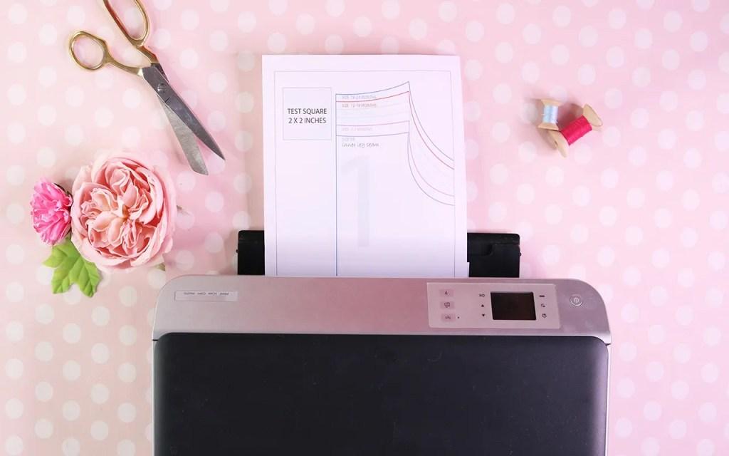 printing a pdf pattern