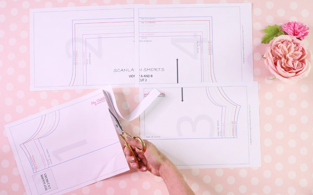 How to Print PDF Patterns - Cutting