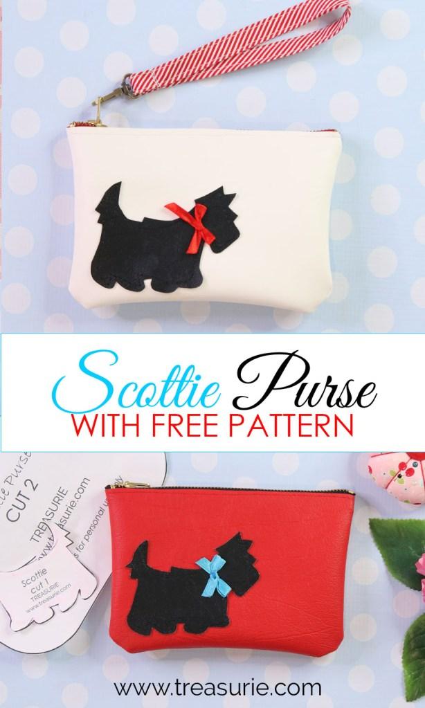 Leather purse pattern