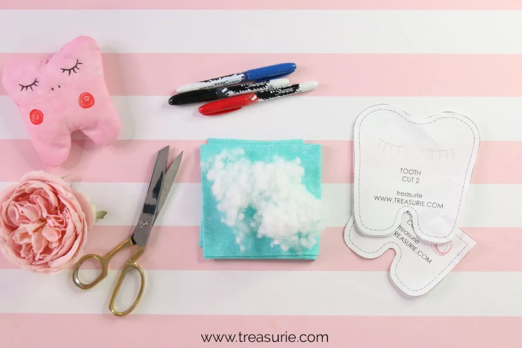 tooth fairy pillow supplies