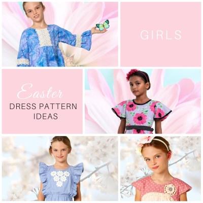 Easter Dress Patterns for girls