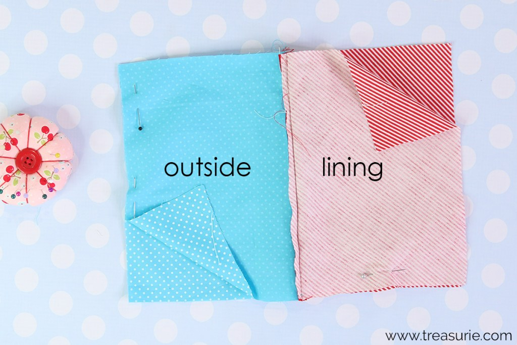 step 5: how to sew a zipper pouch