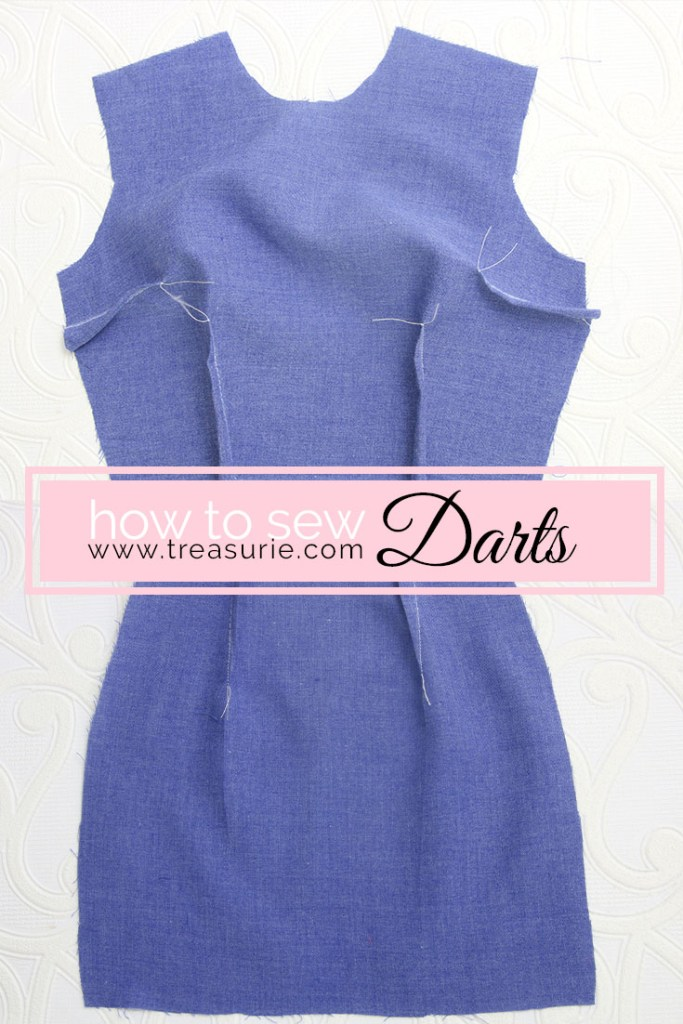 sewing darts, how to sew darts