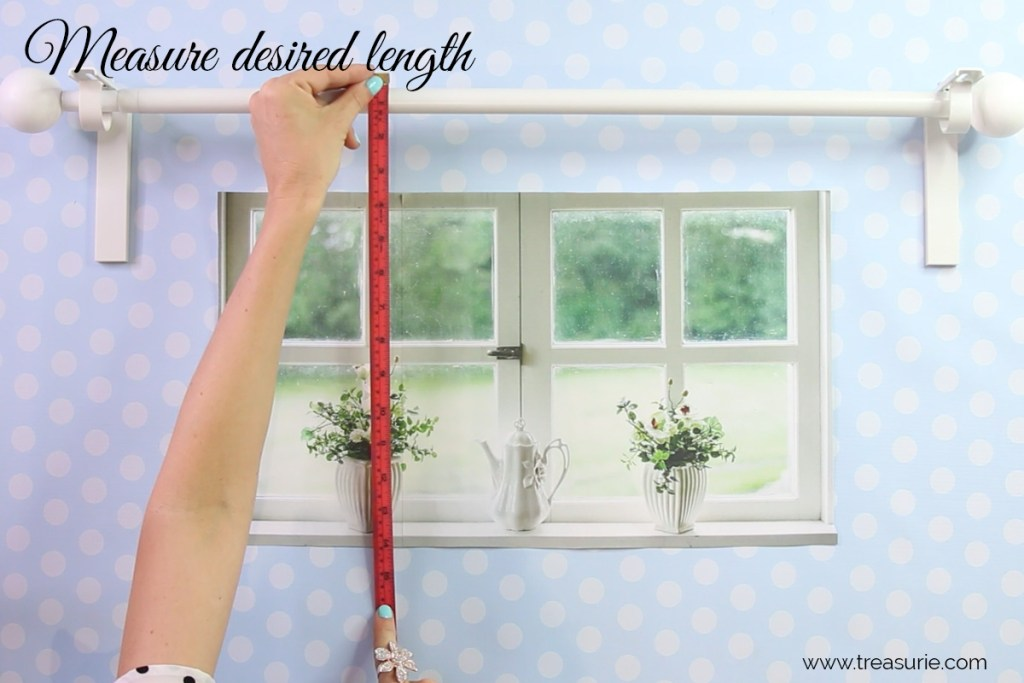 how to measure curtains length