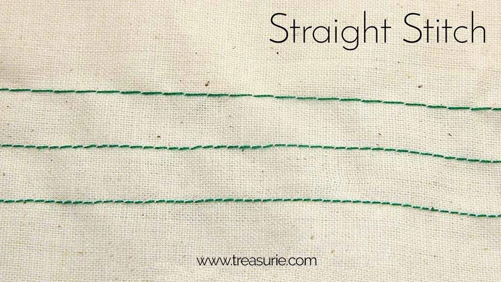 Sewing Machine Stitches - Best Stitches to Use | TREASURIE