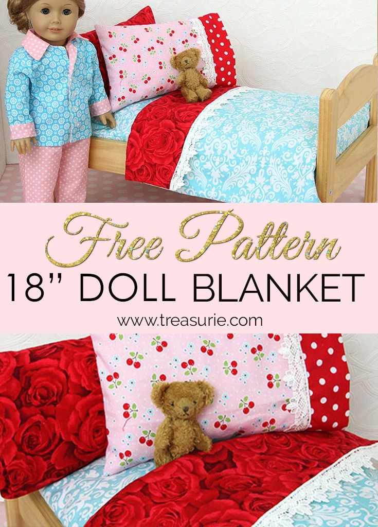 How to Make a Doll Blanket