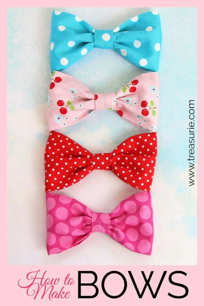 How to Make a Fabric Bow, DIY Fabric Bows