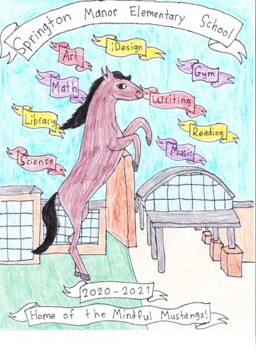 Springton Elementary Yearbook Cover