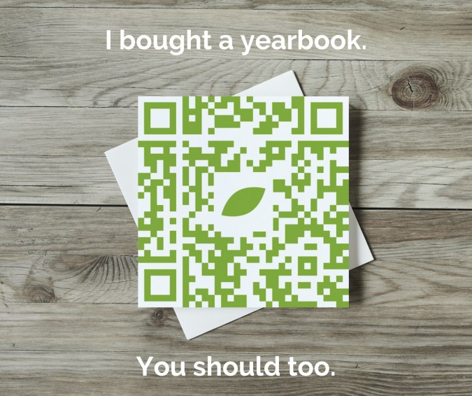 Use QR codes and social badges to increase yearbook sales