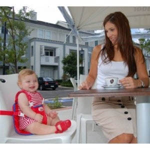 monday madness the most portable travel high chair - Ciao Portable High Chair