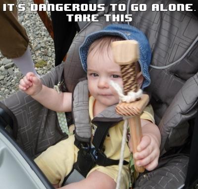 It's Dangerous to Go Alone...