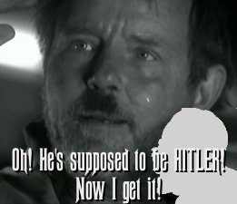 Oh, it's supposed to be HITLER!