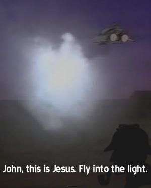 John, this is Jesus.