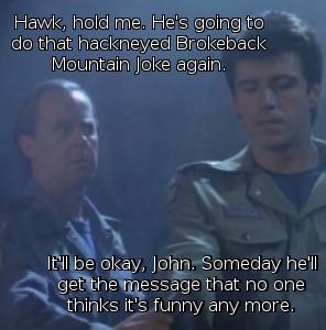 Hawk Comforts John