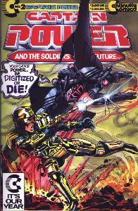 Cover of Continuity Comics Captain Power Number 2