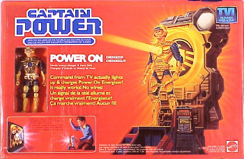 Captain Power and the Soldiers of the Future Power On