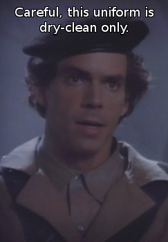 Raymond O'Neill as Elzar in Captain Power
