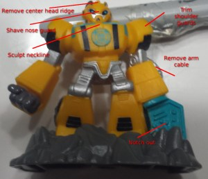Rescue Bots Beam Box Bumblebee