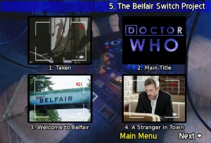 Doctor Who DVD Menu