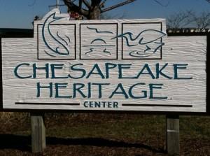 Chesapeake Heritage Center Sign