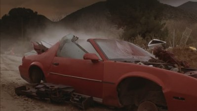 They even destroyed a third-gen Trans Am? The FIENDS!