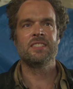 Also, Shackleford kinda looks like the result of an alien breeding project involving Mark Ruffalo and Cliff DeYoung