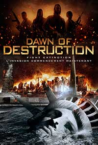 Dawn of Destruction DVD cover