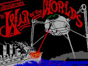 ZX Spectrum version of War of the Worlds