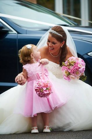 2 Bridal Bouquet Pink Wedding (2)