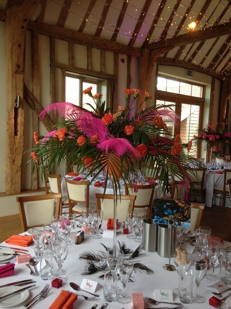 Bollywood Evening | Floristry: Triangle Nursery Ltd | Venue: Easton Grange | For more ideas, visit our website at www.trianglenursery.co.uk/weddings