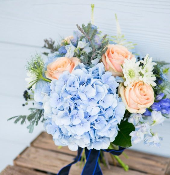 What's in My Bouquet? Something Blue…