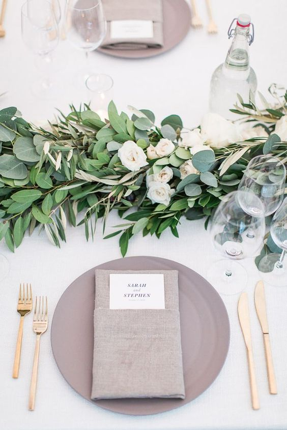 Greenery for Table Runners