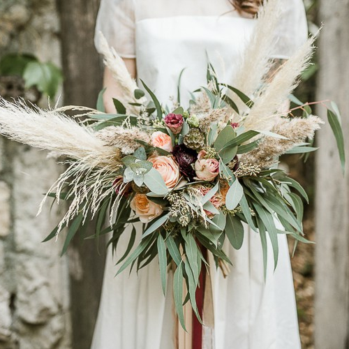 Trendy + Modern Wedding Bouquet
