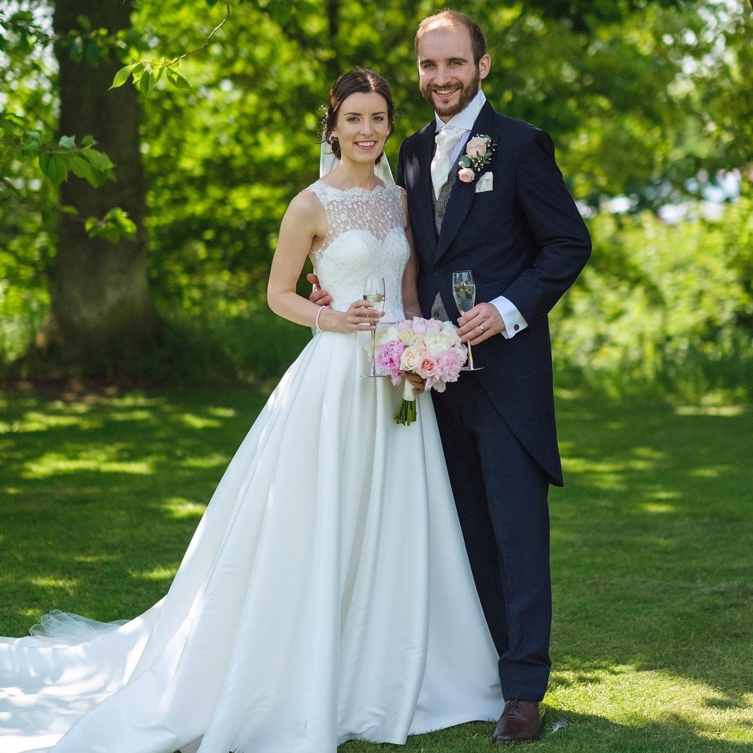 Kristin and Luke Real Wedding - Triangle Nursery Ltd