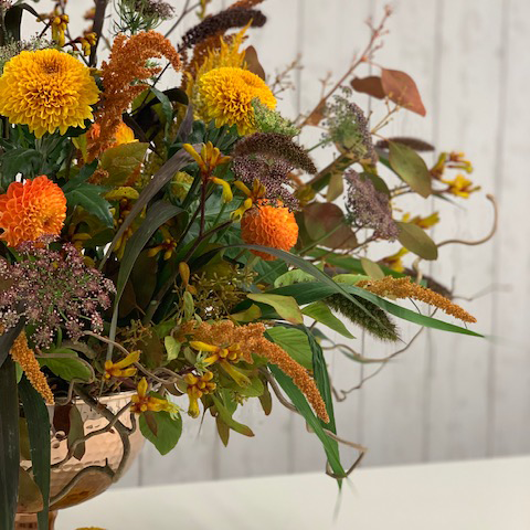 DIY Autumn Punch Bowl