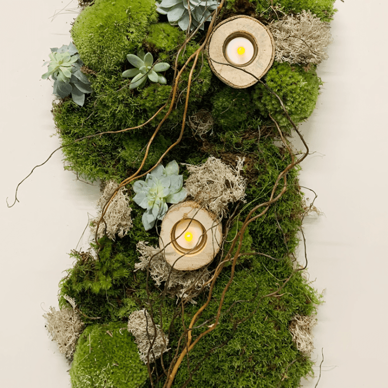 4 Ways to Incorporate Moss into your Wedding