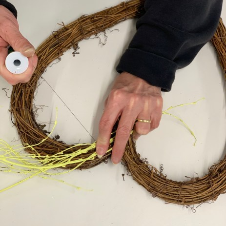 Make your Own Kit: Spring Wreath with Artificial flowers