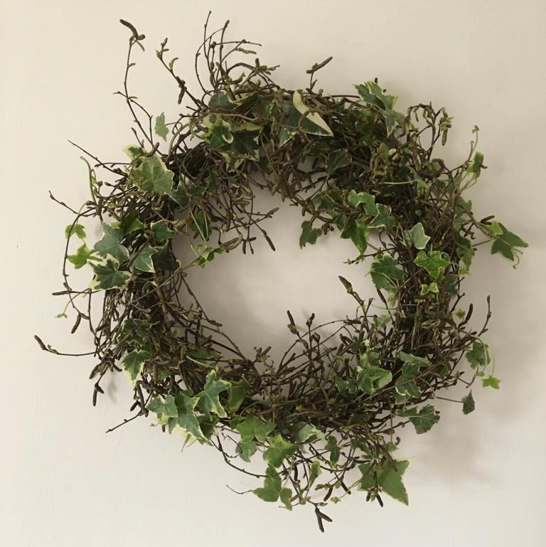 Garden Challenge: Ivy Wreath