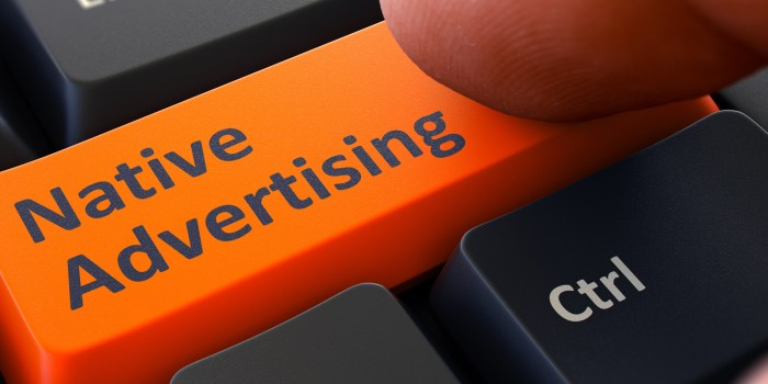 Content Marketing vs. Native Advertising